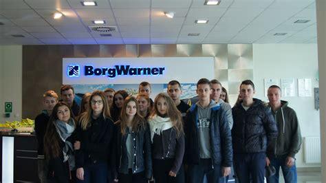 Spedytorzy w firmie BorgWarner - ZSL Leżajsk