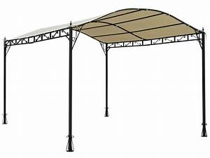 tonnelle quotcap ferretquot 300 x 400 x h250 cm coloris With tonnelle de jardin fer forge 0 tonnelle fer forge illusion 4x3 m tonnelle autoportante