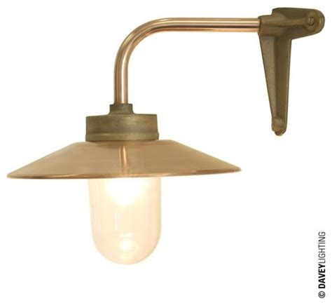 davey 7680 exterior bracket light corner fork gunmetal