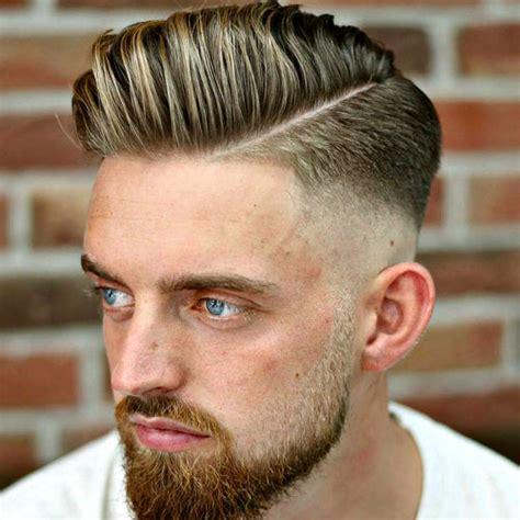 hard part haircut ideas   modern dapper man