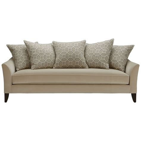 87 Bench Cushion Sofa Contemporary Stationary Sofa