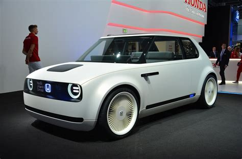 Ev Car News by Honda Unveils Looking Ev Concept News