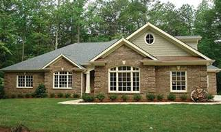 Top Photos Ideas For Ranch Home Layouts by Brick Ranch House Plans Brick One Story House Plans All