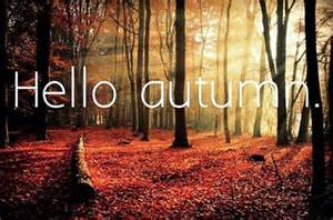 First Day of Fall Autumn Equinox