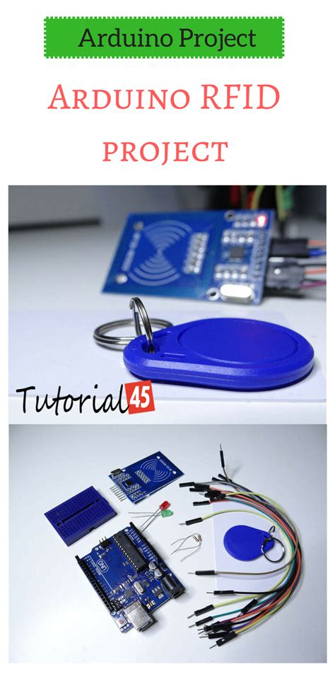 arduino rfid project for beginners arduino
