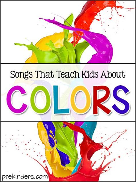 only best 25 ideas about color songs on 571 | 1e4589f97199888579dc8c25d6149678 kindergarten songs preschool songs