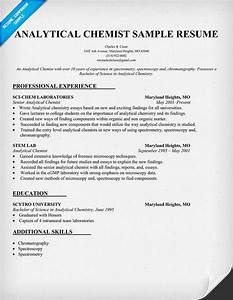 analytical chemist cv examplesplease help With chemist cv template