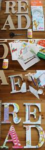 make these cute letters with 200 wooden letters from With wood letters to paint walmart