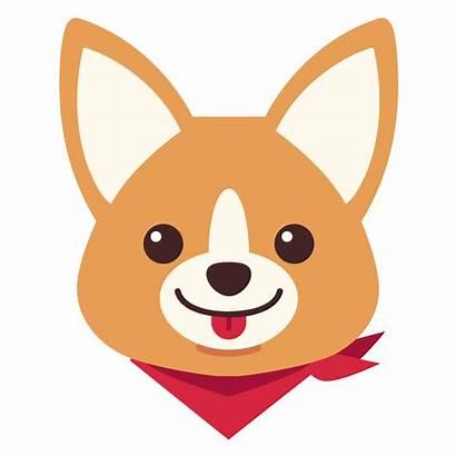 Corgi Dog Clipart Cartoon Draw Transparent Easy