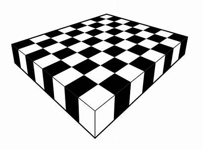 Perspective Chessboard Drawing Draw Checkerboard Point Using