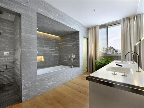 Modern Italian Bathroom Designs Interior With Stone