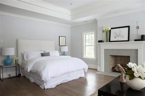 tray ceiling transitional bedroom milton development