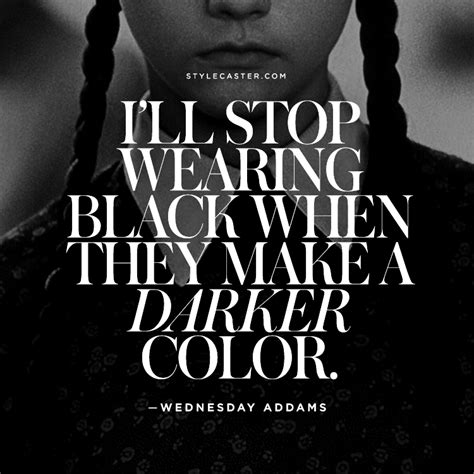 fashion quotes   color black stylecaster