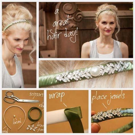 Wedding Hairstyles   DIY Headband DIY Hair Accessories