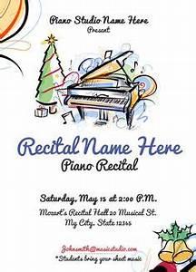 Christmas Recital Program piano lessons