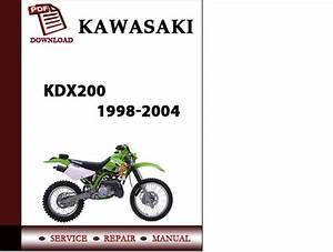 Kawasaki Kdx200 1998