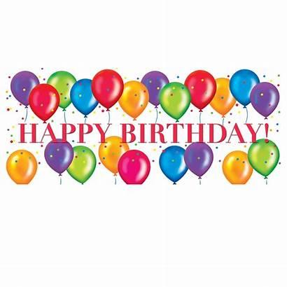 Balloons Birthday Clip Clipart Clipartix Designs