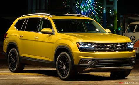 Usa, Russia And Middle East To Get New Volkswagen Atlas