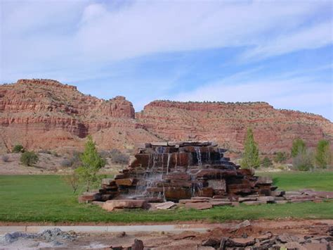 The Red Cliffs Surrounding Kanab, Utah..this