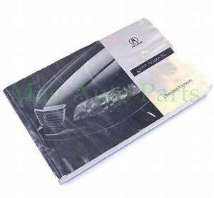 97 Acura Rl Owners Manual Booklet Operator Guide Oem 3 5rl