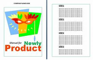 Product Instruction Manual Template