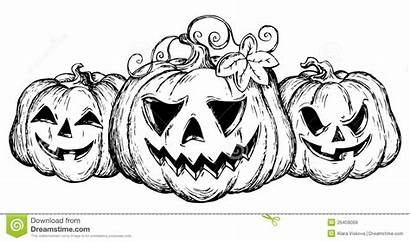 Halloween Drawing Theme Vector Illustration Royalty Decoration