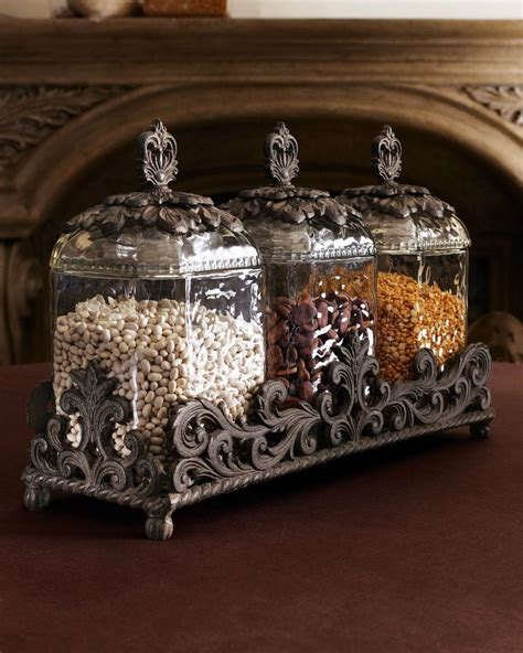 glass kitchen canisters sets gg collection three glass canisters canisters pinterest