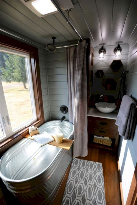 41 stunning brilliant tiny house bathroom design ideas