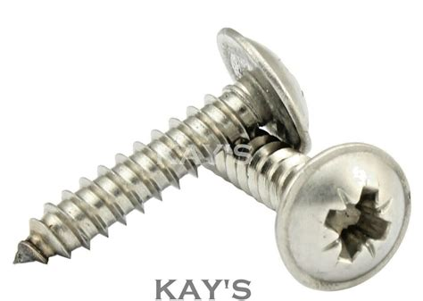 flanged head  tapping screws  stainless steel