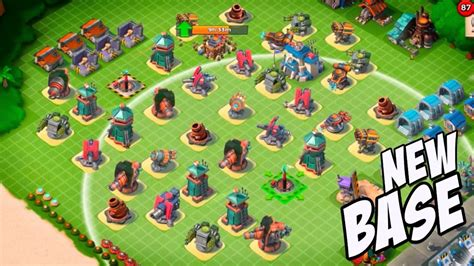 foto de Top 10 boombeach base layout for hq level 21 YouTube