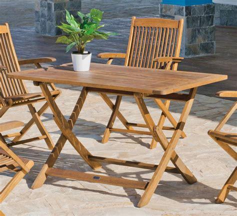 mesa madera merida  de hevea terrazajardin madera