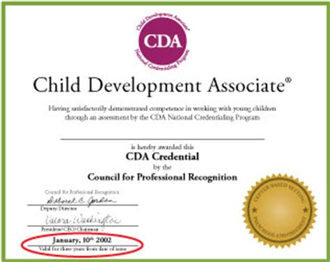 cda renewal early childhood and youth development 772 | 87
