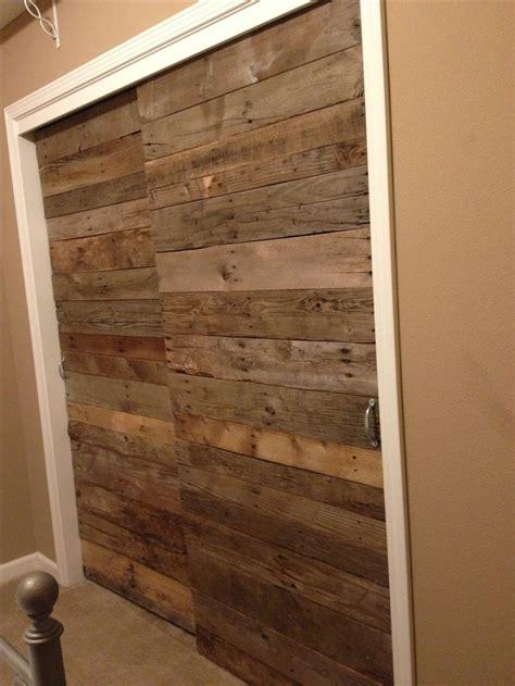 pallet wood sliding closet doors http www arcreactions