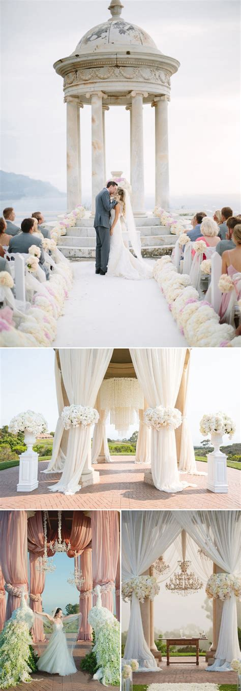eye catching wedding altars  wedding ceremony ideas