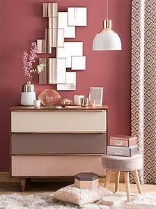 Rose Gold Wandfarbe : 16 rose gold and copper details for stylish interior decor style motivation ~ Frokenaadalensverden.com Haus und Dekorationen