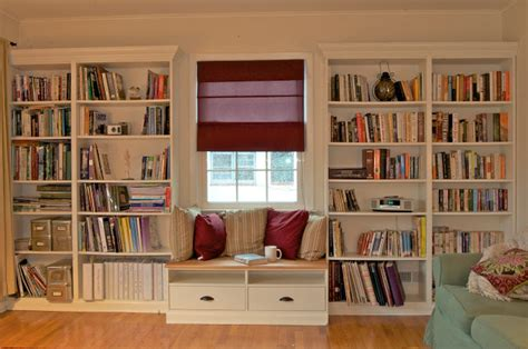 Built In Bookshelves With Window-seat For Under 0