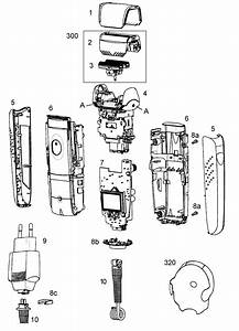 Norelco Shaver Parts Diagram