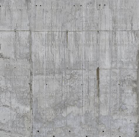 concrete wall strong leaking grunge top texture