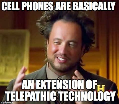 Cell Tech Meme - telepathic communication imgflip