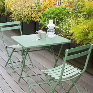 Table De Balcon : table de balcon pliante carr e greensboro kaki hesp ride 2 places ~ Teatrodelosmanantiales.com Idées de Décoration