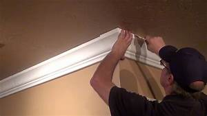 Crown Molding Wire And Cable Management