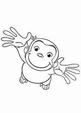 Curious Coloring George Ciekawski Stimulate Skills Motor Fine Ausmalbilder Neugierige Nr Malvorlagen Kinder Kolorowanka Drucken Malowanka Bestappsforkids Sie sketch template