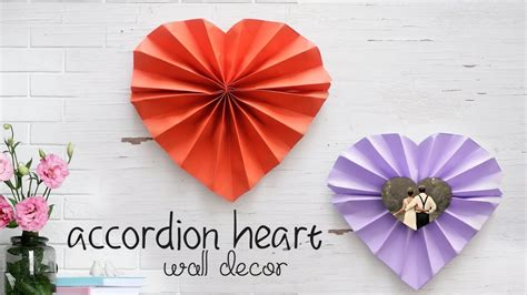 The finished example shown is. Heart Wall Decor! - YouTube