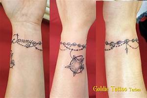 Tatouage Prénom Poignet : tatouage femme bracelet prenom mod les et exemples ~ Melissatoandfro.com Idées de Décoration