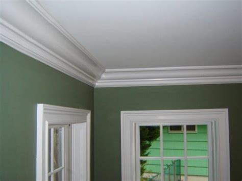 interior paint crown molding trim window trim