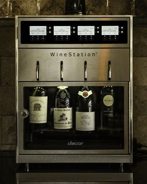 dacor wine dispenser the most expensive kitchen appliances wine station 3077