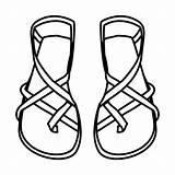 Coloring Sandalias Sandal Draw Flip Colorear Flop Drawings Bible Dibujos Sandals Clipart Pintar Slippers Shoe Drawing Pubers Karakter Dessin Clipartmag sketch template