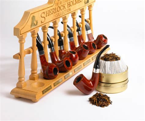 sherlock holmes peterson pipe pipes closer tobacco smoking series pipedia collection rack shape salvo uploaded user