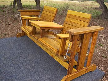 glider outdoor wooden glider made by quality patio