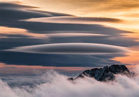 nature, Landscape, Mountains, Birds eye view, Tatra ...